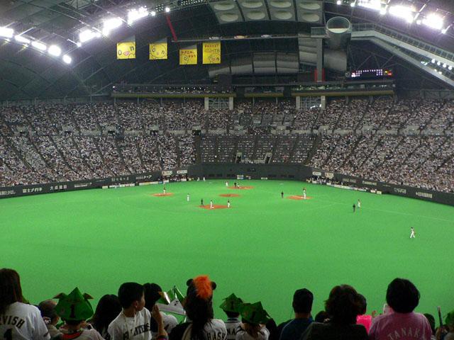 札幌ドーム収容人数